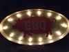 Industrial Marquee BBQ Pig Light Vintage Style