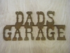 Rusted Metal Garage Signs (Click Here for More)