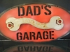 Metal Painted Garage Signs
