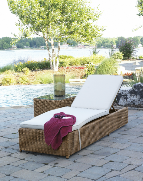 South Beach Adjustable Chaise Lounge