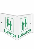 "6"" x 12"" Elevator Directional (Wall Sign)"