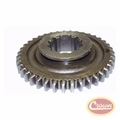 13) Gear, sliding, output shaft ( 39 teeth ), use with Dana Spicer 18 transfer case