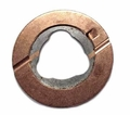 "22) Thrust washer, intermediate shaft for 1-1/8"" shaft, use with Dana Spicer 18 transfer case"