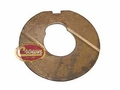 14) Thrust washer, countershaft, front (steel backed bronze), Jeep CJ-5, CJ-6 with T-86aa transmission