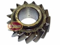 15) Reverse idler gear, Jeep CJ-5, CJ-6 with T-86aa transmission