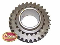 8) 1st Gear, S21/L30 teeth, 1967-75 Jeep CJ-5, CJ-6 with T-14 transmission