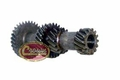 16) Cluster gear, R31-25-15-14 teeth, 1967-71 Jeep CJ-5, CJ-6 with T-14 transmission