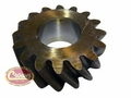 22) Reverse idler gear, 16 teeth, 1967-75 Jeep CJ-5, CJ-6 with T-14 transmission