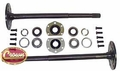 (1) One piece axle shaft kit, fits 1982-86 Jeep CJ-5, CJ-7 & CJ-8 with model 20 rear axle ( not compatible with quadra-trac applications )