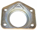 (11) Rear axle dust shield retainer, fits 1976-86 Jeep CJ-5, CJ-7 & CJ-8 with AMC model 20 rear axle
