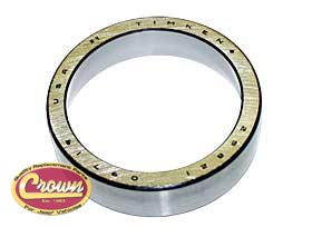 20) Differential carrier bearing cup fits 1946-71 Jeep & Willys with Dana 41 & 44 axle with tapered axles