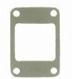 13) Gasket, intake manifold to exhaust, L-134 flathead, 1945-53 Willys Jeep CJ-2A, CJ-3B