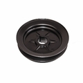 27) Pulley, crankshaft, single groove, L -134, 1945-53 Willys Jeep CJ-2A, CJ-3A
