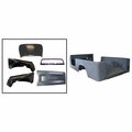 Replacement steel body kit, 1981-1986 Jeep CJ-8 Scrambler, with fenders, hood, windshield & tailgate