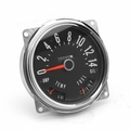 Speedometer assembly, 0-140 kph, includes speedometer assembled with fuel and temperature gauges, 1955-79 Jeep CJ-5, CJ-6, CJ-7