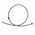 "Speedometer cable, 69"" fits 1977-86 Jeep CJ, all w/ standard transmission"