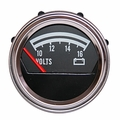 Voltmeter gauge, 12 volt, fits 1976-86 Jeep CJ