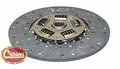 Clutch disc, fits 1972-75 & 1980-83 Jeep CJ, 11""