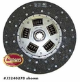 Clutch disc, fits 1972-76 Jeep CJ, 1980-86 Jeep CJ with 6 or 8 cyl, 10.50""