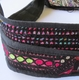 Tolani Vintage Oval Hobo Black Bag