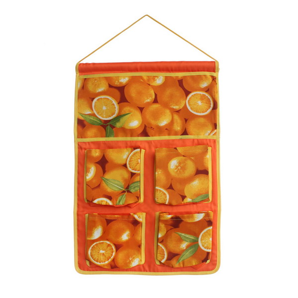 [Full Orange] Wall Hanging/ Wall Organizers / Wall Baskets / Hanging Baskets (14*20)