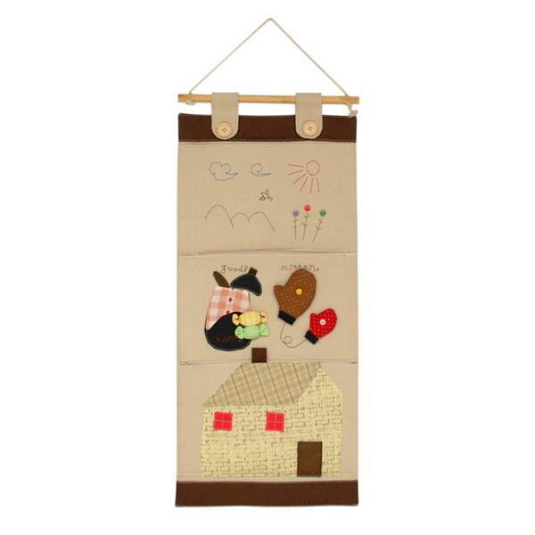 [Sunny Day]/Wall Hanging/Wall Organizers/ Wall Pocket/ Baskets/ Wall Pocket (11*24)