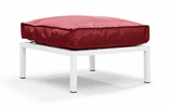Copacabana Ottoman Red by Zuo Modern