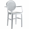 KING ALUMINUM DINING CHAIR