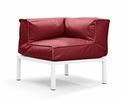 Copacabana Corner Red by Zuo Modern
