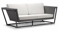 Laguna Black Weave Outdoor Sofa