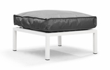 Copacabana Ottoman Light Gray by Zuo Modern