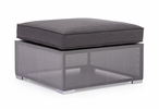 Clear Water Bay Ottoman Gray