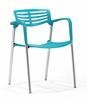 Scope Dining Chair Blue