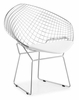 Net Dining Chair White by Zuo Modern