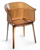 Allsorts Dining Chair Transparent Brown by Zuo Modern