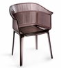 Allsorts Dining Chair Smoky Grey by Zuo Modern