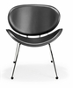 Match Lounge Chair Black