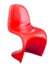 S Chair Red