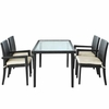 Viva Outdoor Wicker Patio Dining Set