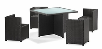 Turtle Beach Table Set Espresso