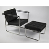 Le Corbusier Style Celona Set Chair and Ottoman