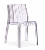 Ruffle Dining Chair Transparent