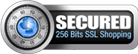 Secured 256bits SSL Shopping