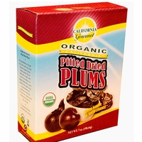 California Gourmet Organic Pitted Prunes 7 oz / 36 case