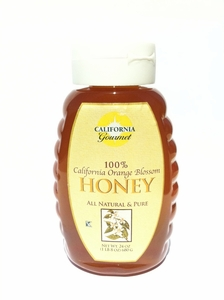 California Gourmet Orange Blossom Honey 24 fl oz / 12 case