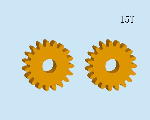 W100-016: brushless motor copper gear