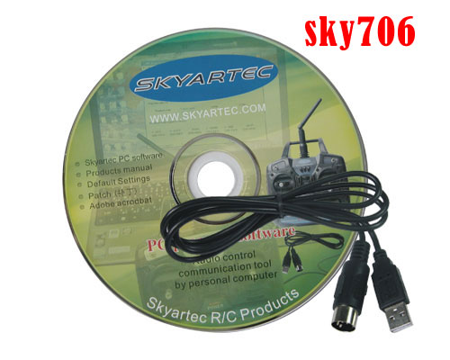 HS018D Skyartec PC program USB cable( for sky706 )