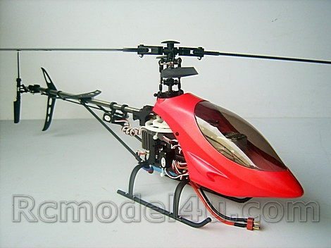 2.4GHz FALCON 400 V2 6CH R/C Helicopter With Carbon Fibre Blades