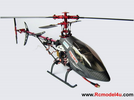 2.4GHz Falcon 400 SE 3D 6 Channel Aerobatic R/C Helicopter