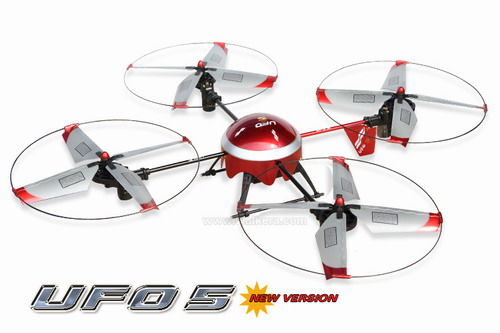 2.4GHz Walkera New Version UFO 5# ! Ready to Fly!